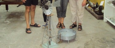 Donaron un Molino Schmidt para el Museo Municipal de Espigas