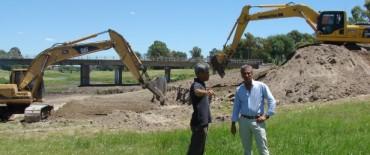 Eseverri reconoció el aporte de la Provincia para ejecutar obras hídricas