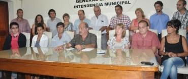 La Madrid: puesta en funciones a nuevos funcionarios municipales