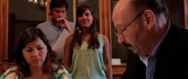 Azul: el intendente Inza firmó un convenio con la ministra Batakis  por un crédito para la pavimentación