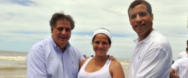 San Bernardo inauguró la segunda playa sin cigarrillos del partido de la costa