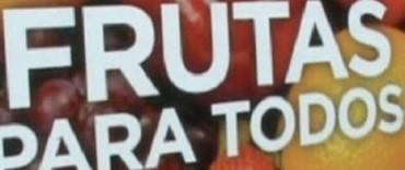 """Frutas para todos"" en Olavarría: modificación de fechas"