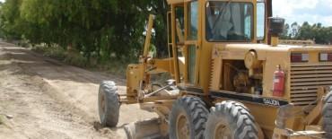 Finalizan los trabajos de mejoramiento de calles en Rivadavia Sur