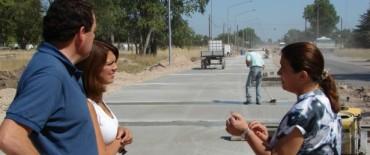 Importante avance de obra en la segunda etapa de pavimentación de la Autopista Luciano Fortabat