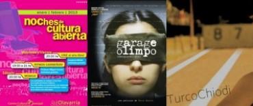 Siguen las Noches de Cultura Abierta: Garage Olimpo, Chiodi y Arauco entre las propuestas