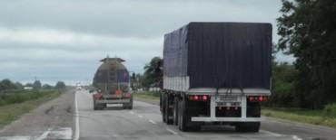 Este miércoles habrá restricción de camiones por el feriado del jueves 31