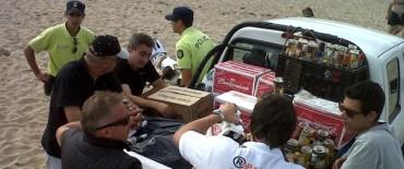 Extienden los controles de alcohol a campings y hoteles