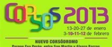 Corsos 2013: más atractivos, color y música este domingo