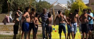 Eseverri acompañó a más de 500 chicos que participaron de la Fiesta recreativa de las Escuelas de Verano