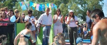 Eseverri estuvo en el cierre de los Programas Municipales en Los Barrancos
