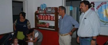 Eseverri recorrió Jardines Maternales previo al inicio formal de las actividades