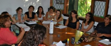 Se reunió la Mesa Contra la Violencia Familiar y de Género