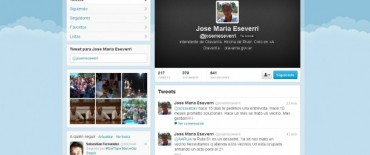 Política: Eseverri reclamó vía Twitter por la Ruta 51