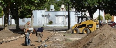 Con una inversión cercana a los 2 millones de pesos se trabaja en el mejoramiento de los espacios públicos