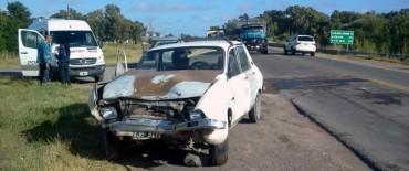 Accidente con un herido leve sobre Ruta 226