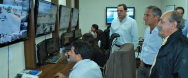 El Centro de Monitoreo de Olavarría modelo para Municipios de la región