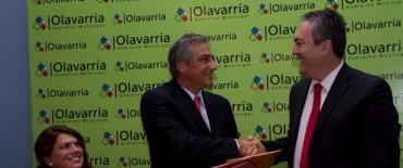 """El Intendente Municipal destacó: """"este acto es de muchísima importancia para Olavarría, y también para la Provincia"""