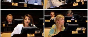 Evocaron a mujeres destacadas en la Sesión de Diputados