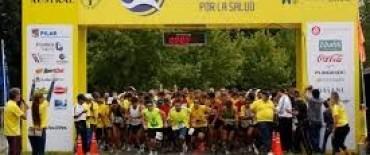 Corrieron la Maratón por la Salud en Pilar
