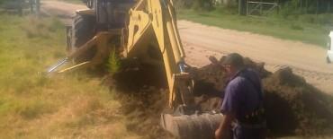 Alvear: se inició obra de extendido de la red de agua potable