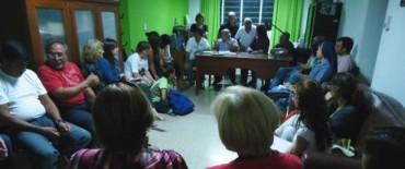 Resaltan un gran acompañamiento de vecinos en las reuniones de las Mesas de Gestión