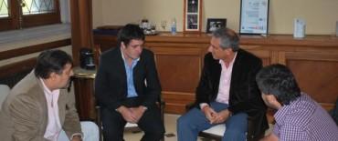 Eseverri se reunió con el Presidente del bloque de Concejales del FPV de Roque Pérez