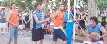 Basquetbol: El 3 x 3  Solidario fué un éxito.