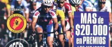 Importante prueba ciclística en Azul.