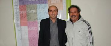 El Secretario de Desarrollo Social entregó un subsidio a la Sociedad Portuguesa