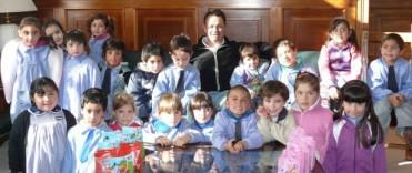 Alvear: alumnos visitaron al intendente
