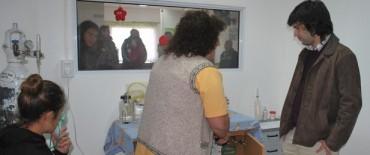 """El Centro de Salud Nº 26 """"Lourdes"""" cuenta con un gabinete para el tratamiento de afecciones respiratorias"""