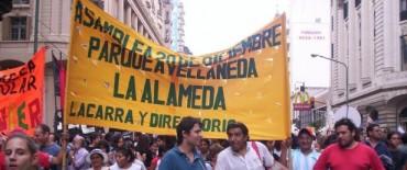 """Llega """"La Alameda"""": Presentan la Red Antimafia en Olavarría"""