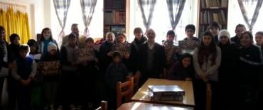 Se entregaron juegos de ajedrez en Espigas
