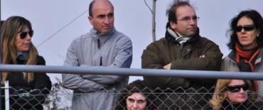 """Eduardo Rodríguez participó de la entrega de premios de la Copa de Tenis """"Ciudad de Olavarría"""""""