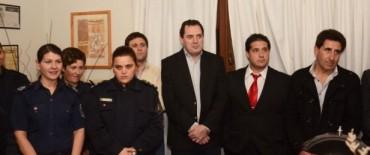 Héctor Vitale participó del acto de cambio de autoridades de la Comisaría y la Mujer de Olavarría