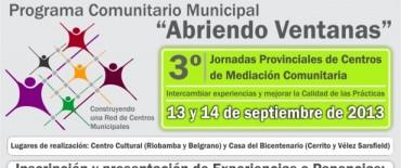 Confirman lo adelantado en LU32: Se realizarán las III Jornadas Provinciales de Centros de Mediación en Olavarría