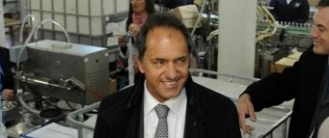 El gobernador bonaerense llega a Olavarría
