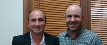 Eduardo Rodríguez entregó un subsidio para el trabajo discográfico de Sebastián Aitala