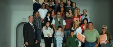 Nueva entrega de Actas constitutivas de Bien de Familia