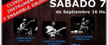 """Clínica de música en la Escuela Municipal de Música """"Hnos. Rossi"""""""