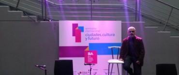 """Olavarría participó del Seminario Internacional """"Ciudades, Cultura y Futuro"""""""