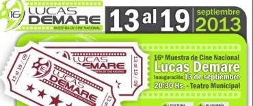 "Se realiza la 16º Muestra de Cine Nacional ""Lucas Demare"""