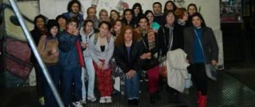 Tres mutuales de arte de Olavarría visitaron Buenos Aires