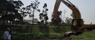 """Margarita Arregui: """"Trabajamos permanentemente para la defensa hidráulica de la ciudad"""""""