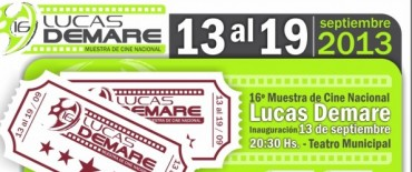 "16º Muestra de Cine Nacional ""Lucas Demare"""