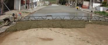 Continúan los trabajos de repavimentación en Villa Arrieta