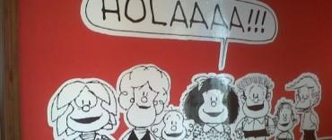 """Quedó inaugurada la muestra """"El mundo según Mafalda"""""""