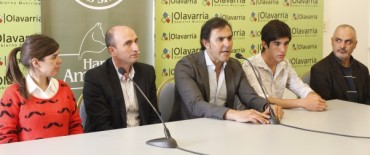 Eduardo Rodríguez presentó el Torneo Federal de Equitación