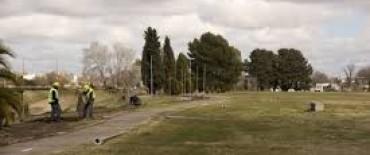 Desde el Municipio destacan las obras en el Parque Cerrito