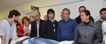 Eseverri anunció que el 11 de octubre se inaugurará la nueva guardia del Hospital Municipal